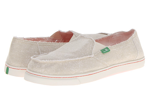 Pantofi Sanuk - Cabrio Breeze - Natural/Coral