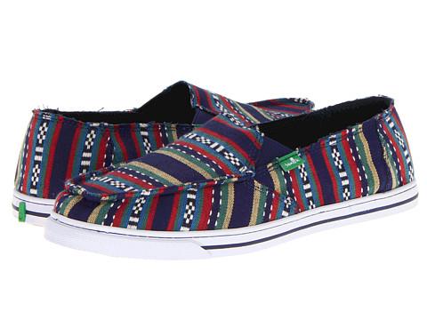 Pantofi Sanuk - Cabrio Poncho - Blue