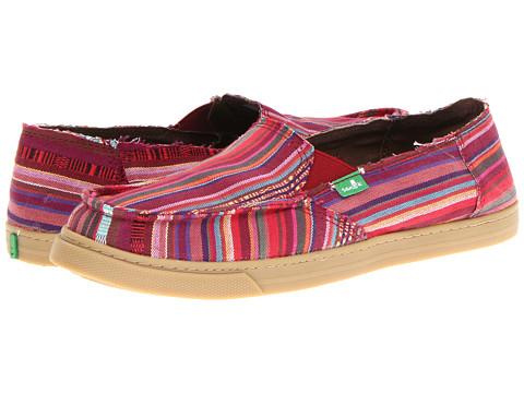 Pantofi Sanuk - Cabrio Poncho - Magenta