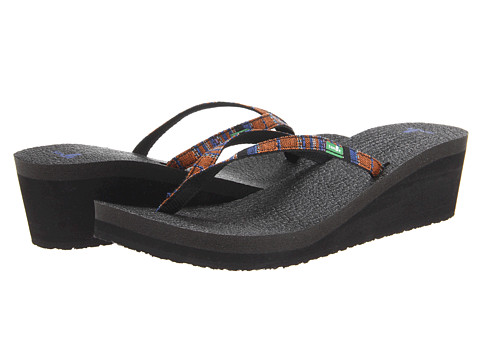 Sandale Sanuk - Yoga Spree Funk Wedge - Rust