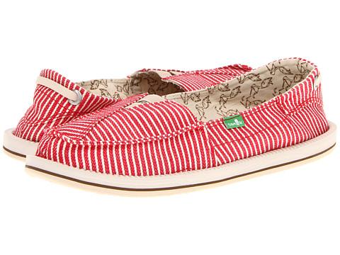 Adidasi Sanuk - Castaway - Red Stripe