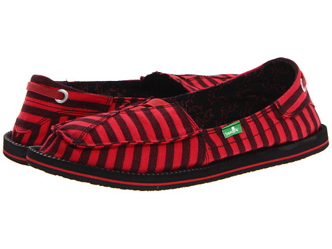 Adidasi Sanuk - Castaway - Red/Black
