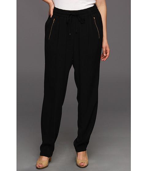Pantaloni Calvin Klein - Plus Size Draw String Pant - Black