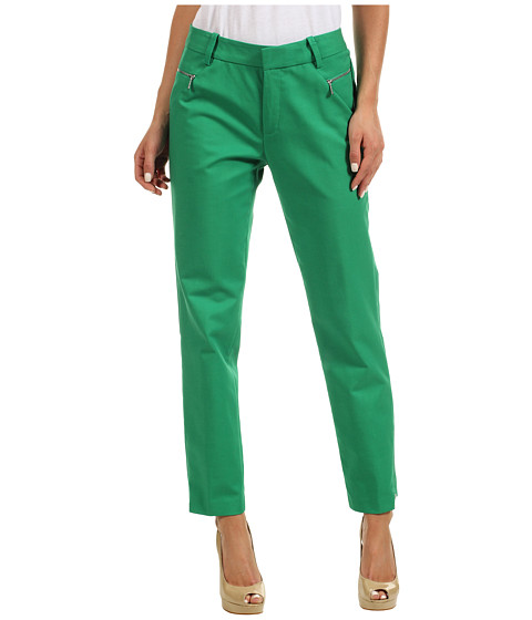 Pantaloni Calvin Klein - Skinny Pant w/ Zippers - Emerald