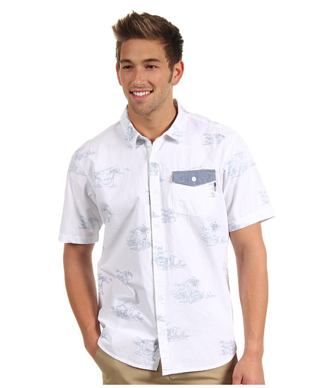 Camasi ONeill - V-Land S/S Button Up - White