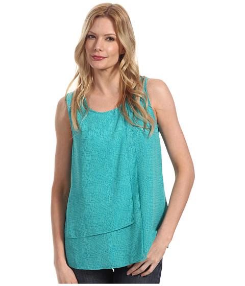Tricouri Calvin Klein - Printed Layered Tank - Ocean Green