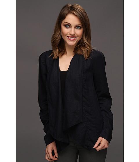 Sacouri DKNY - Long Sleeve Cozy w/ Lightweight Jersey Inserts - Spring Navy