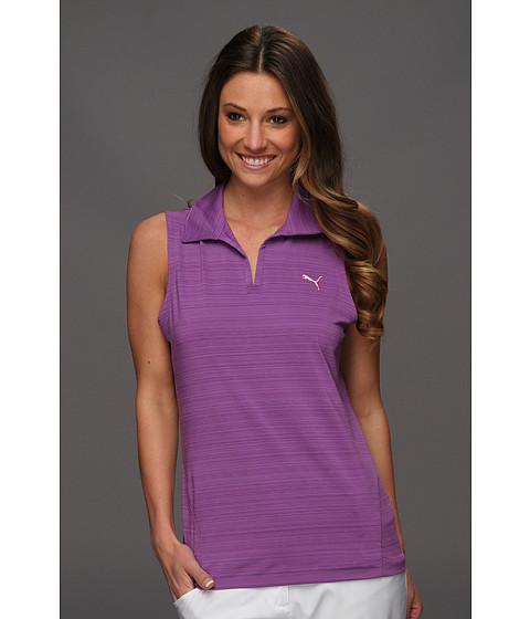 Tricouri PUMA - Sleeveless Barcode Polo Shirt \13 - Bright Violet