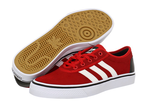Adidasi adidas - Adi-Ease - Vivid Red/White/Black (Suede)
