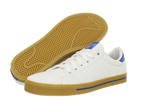 Adidasi adidas - Adicourt AS - Running White/Bluebird/Gum (Textile)