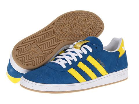 Adidasi adidas - Etrusco - Bluebird/Vivid Yellow/White (Suede)