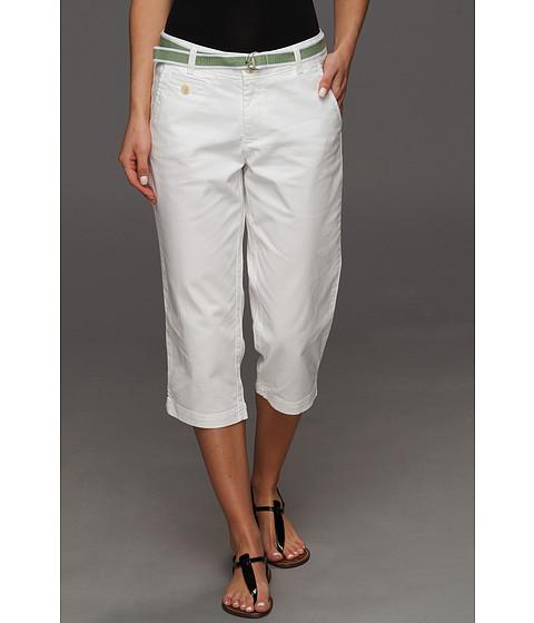 Pantaloni Dockers - Soft Belted Capri - Paper White