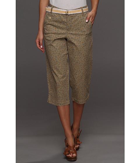 Pantaloni Dockers - Soft Belted Capri - Hansen Print - Sisal