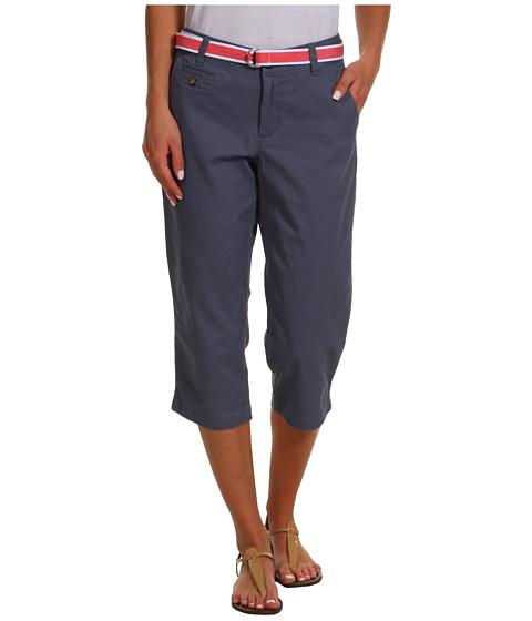 Pantaloni Dockers - Soft Belted Capri - Deck Blue