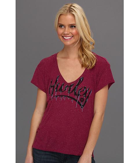 Tricouri Hurley - Fresh Paint Shirt - Acai Berry