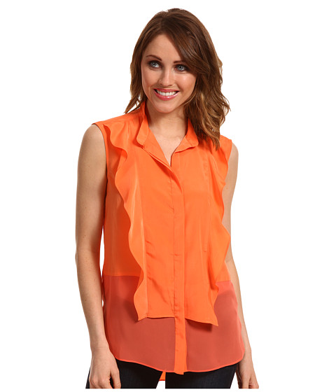 Bluze Kenneth Cole - Isabelle Top - Ripe Peach
