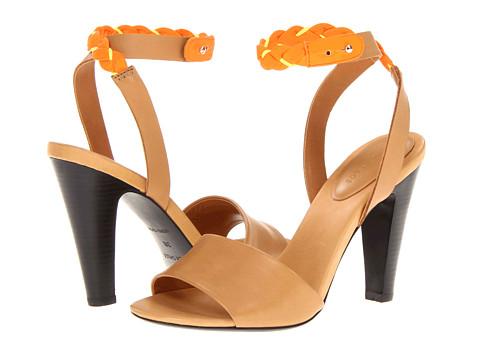 Pantofi Chloe - SB20159 - Veg. Land Calf/Fluo Calf