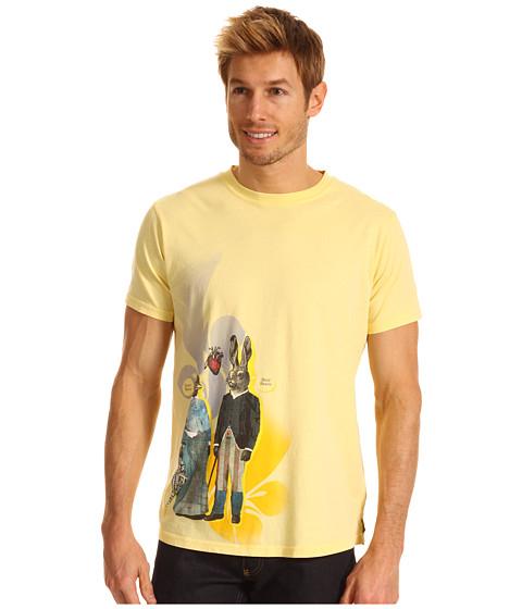 Bluze Robert Graham - Be Nice Graphic Tee - Yellow