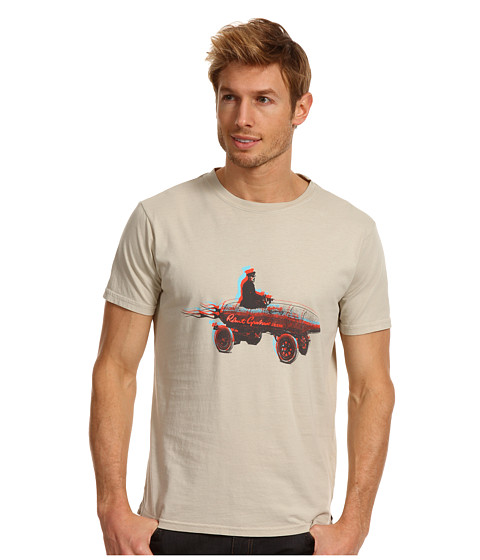 Bluze Robert Graham - Vroom Graphic Tee - Khaki