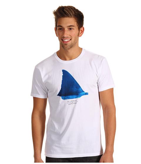 Tricouri Billabong - Billabong x White Mike Shark Fin Tee - White