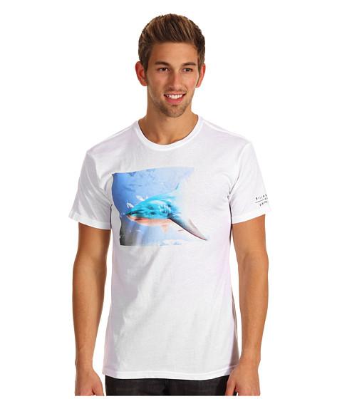 Tricouri Billabong - Billabong x White Mike Sharkomatic Tee - White