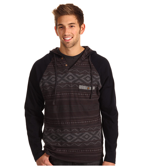 Bluze Billabong - Garage Collection Ziggy Fleece - Tar