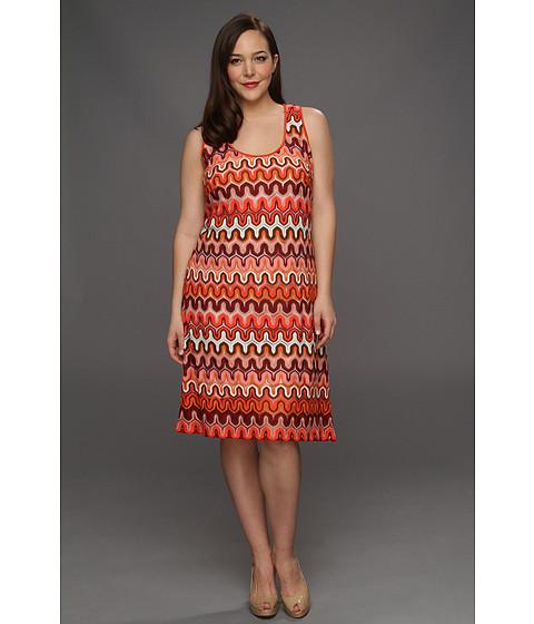 Rochii Karen Kane - Plus Size Crochet Tank Dress - Multi