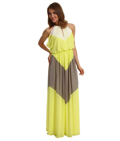 Rochii Vince Camuto - Colorblock Maxi Dress - Yellow