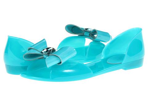 Sandale Stuart Weitzman - Gemini - Turquoise Jelly