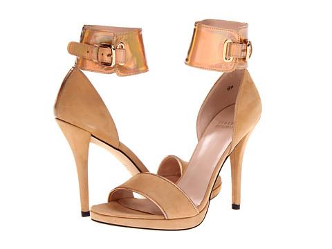 Pantofi Stuart Weitzman - Pipehilda - Camel Nubuck