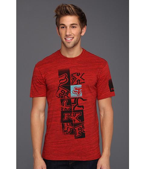 Tricouri Fox - Cubic Fader S/S Premium Tee - Red
