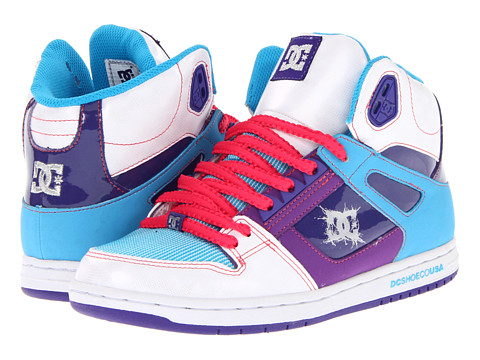Adidasi DC - Rebound Hi W - White/Purple