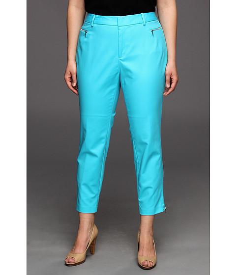 Pantaloni Calvin Klein - Plus Size Skinny Pant w/Zippers - Nile