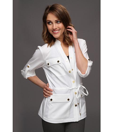 Sacouri Calvin Klein - Safari Shirt Jacket - True White
