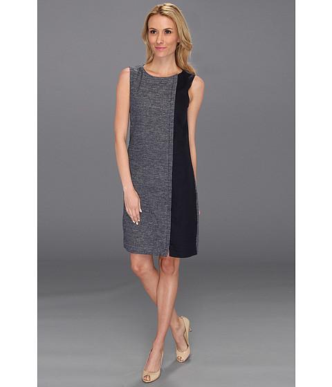 Rochii DKNY - Sleeveless Crewneck Dress w/ Contrast Side Panel - Spring Navy