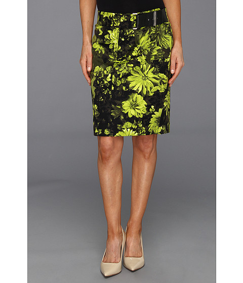 Fuste Michael Kors - Petite English Garden Pencil Skirt - Pear