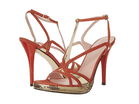 Pantofi Stuart Weitzman - Tasty - Coral Suede