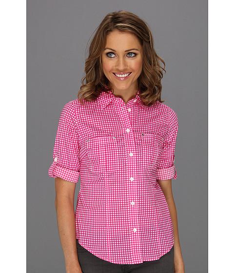 Bluze Michael Kors - Petite Oxford Gingham Shirt - Neon Pink