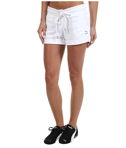 Pantaloni PUMA - Flirty Short - White