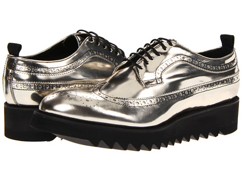 Pantofi DSQUARED2 - Gold Laced Up Oxford - Gold