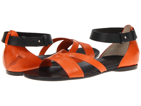 Sandale Costume National - 6S5AB980735 - Orange/Black