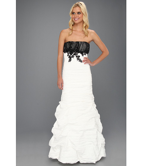 Rochii rsvp - Terra Dress - Black/Ivory