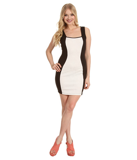 Rochii Type Z - Bell Scuba Dress - White