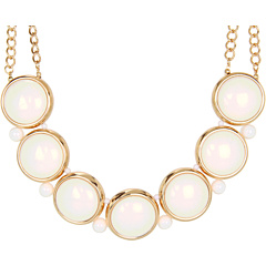 Bijuterii Brigitte Bailey Big Circle Necklace Cream | mycloset.ro