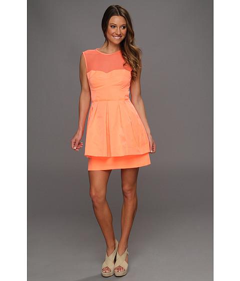 Rochii Nanette Lepore - Lightshow Dress - Coral
