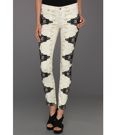 Blugi 7 For All Mankind - The Skinny in Layered Lace - Layered Lace