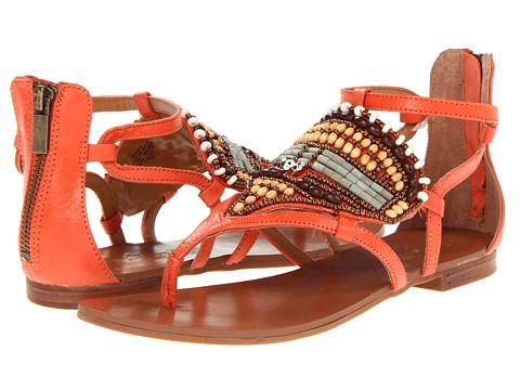 Sandale Nine West - Zhane - Orange Leather