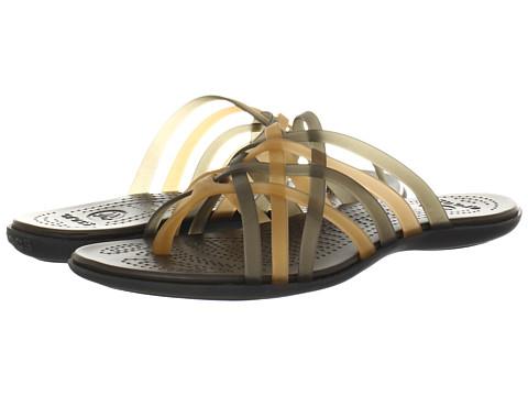 Sandale Crocs - Huarache Flip Flop - Bronze/Espresso