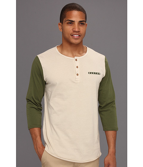 Bluze Burton - Bar League Baseball Tee - Olive