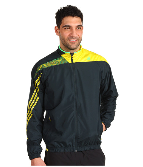 Jachete adidas - F50 Woven Jacket - Tech Onix/Vivid Yellow/Green Zest